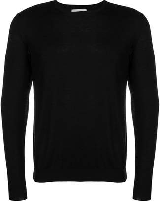 Laneus fine knit fitted sweater