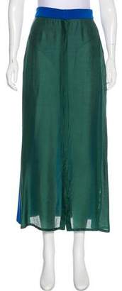 Prism Colorblock Maxi Skirt w/ Tags