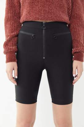 Urban Outfitters Sabine Zip-Front Bike Short