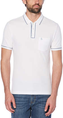 Original Penguin THE EARL CHAMBRAY PIPING POLO