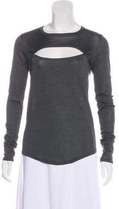 Isabel Marant Long Sleeve Cutout Top