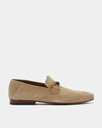 Ted Baker SIBLAC Deconstructed suede loafers