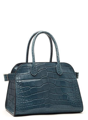 The Row Margaux Alligator Top Handle Bag