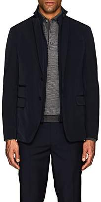 Fay MEN'S TECH-TWILL TRAVEL JACKET & COMPACT KNIT VEST