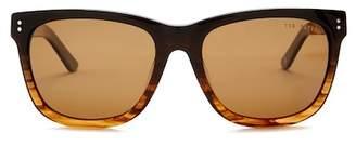 Ted Baker 56mm Full Rim Square Sunglasses