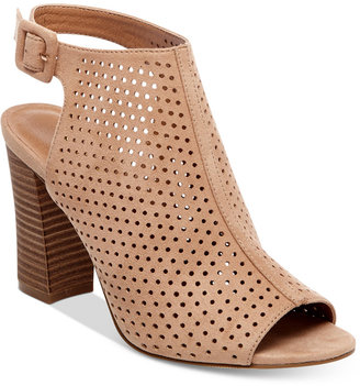 Madden Girl Beckie Perforated Slingback Sandals Women's Shoes $59 thestylecure.com
