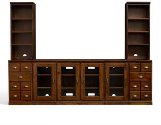 Pottery Barn Large Media Suite with Cabinets