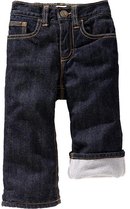 Old Navy Fleece-Lined Jeans for Baby