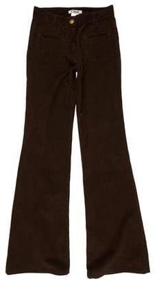 Chloé Corduroy Mid-Rise Jeans