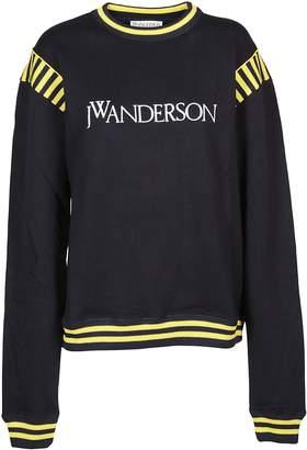 J.W.Anderson Stripe Detail Logo Sweatshirt