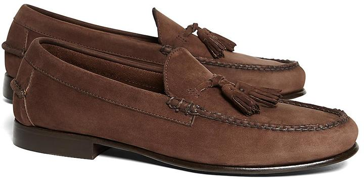 Brooks Brothers Unconstructed Tassel Loafers