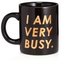 ban.do I Am Very Busy Ceramic Mug