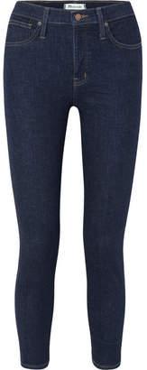 Madewell Cropped High-rise Skinny Jeans - Dark denim
