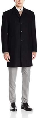 London Fog Men's Signature Wool Blend Top Coat