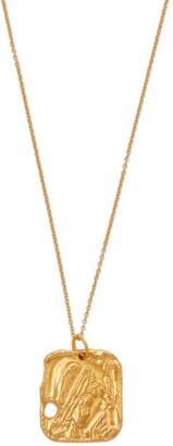 Alighieri The Sorcerer 24kt Gold Plated Necklace - Womens - Gold