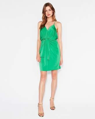 Express Twist Front Mini Dress