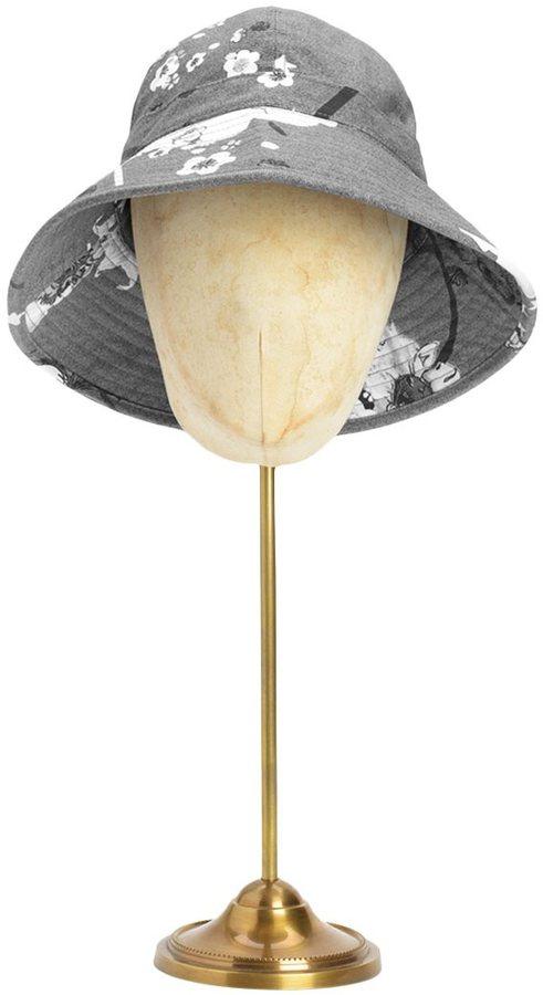 Rag and Bone Trawler Hat - Grey Floral
