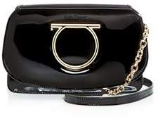 Salvatore Ferragamo Gancio Vela Smooth Calfskin Flap Bag