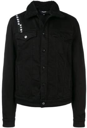Versus logo panel denim jacket