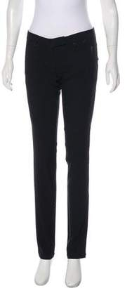 Patrizia Pepe Low-Rise Straight-Leg Pants