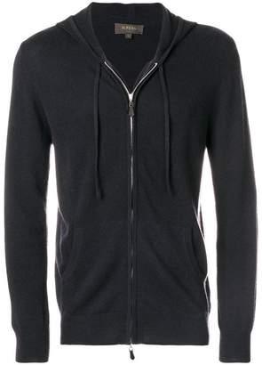 N.Peal hooded zipped cardigan