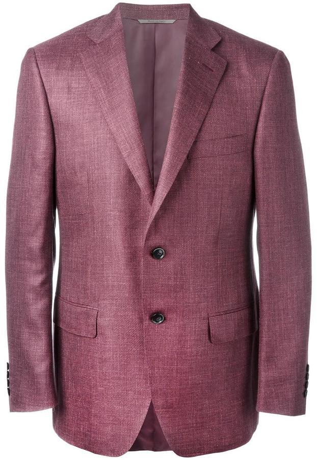 CanaliCanali flap pocket blazer