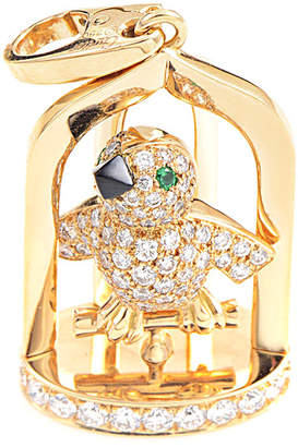 Cartier Heritage  18K Gemstone Songbird Enhancer