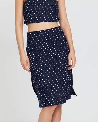 MinkPink Pip Midi Pencil Skirt
