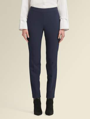 DKNY Straight-Leg Pant With Side Zip