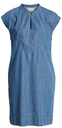 J.Crew J. CREW Dorado Keyhole Chambray Dress