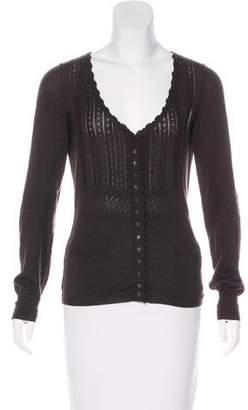 Dolce & Gabbana Cashmere Knit Top
