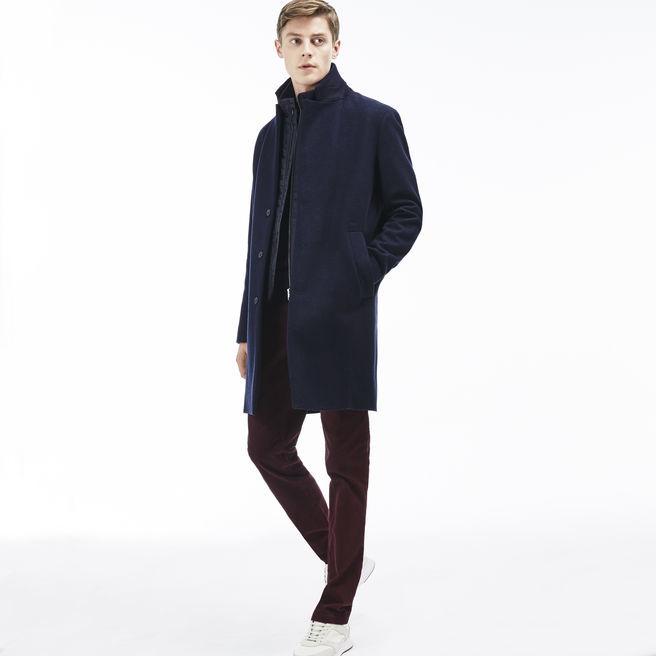LacosteMen's Wool Overcoat