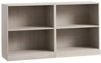 Pottery Barn Teen Stack Me Up Small Bookcase Set, Brushed Fog