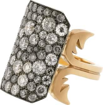 SYLVA & CIE Grey Diamond Ten Table Ring