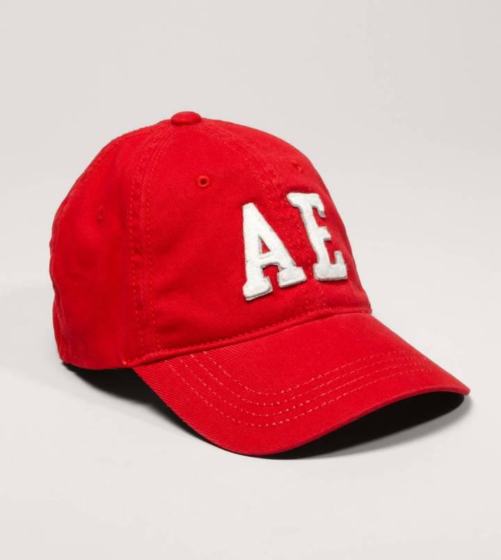 American Eagle AE Logo Fitted Baseball Cap