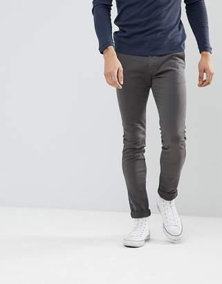Celio Skinny Chino In Gray