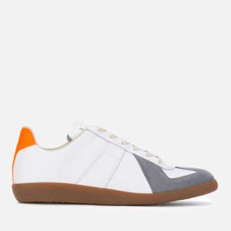 Men's Replica Low Top Trainers White/Orange