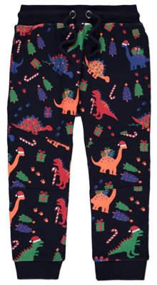 George Dinosaur Christmas Joggers