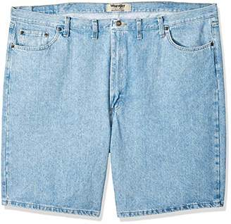 Wrangler Men's Big-Tall Authentics Denim 5 Pocket Short