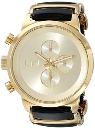 Vestal Unisex METCA08 Metronome Analog Display Quartz Gold Watch