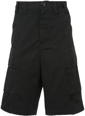 Song For The Mute wide leg bermuda shorts