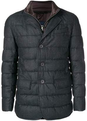 Herno quilted blazer with removable liner