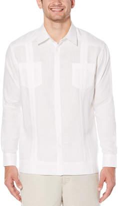 Cubavera 100% Linen Long Sleeve 2 Upper Pocket Guayabera