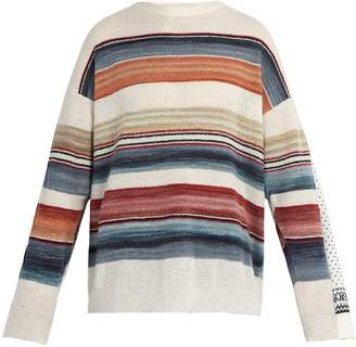 Y/Project Double-layered Norwegian wool-blend sweater