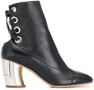 Proenza Schouler Lace Back Ankle Boots