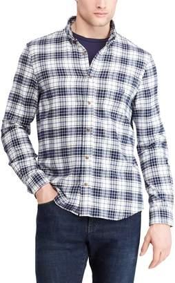 Chaps Men's Regular-Fit Plaid Flannel Button-Down Shirt