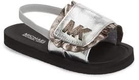 MICHAEL Michael Kors Eli Jack Metallic Sandal