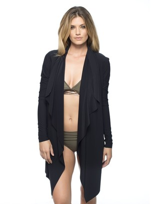 LUXE by Lisa Vogel Essential Wrap Jacket $95 thestylecure.com