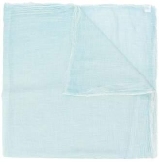 Faliero Sarti raw edge detail scarf