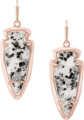Katelyn Earrings in Gray Granite $65 thestylecure.com